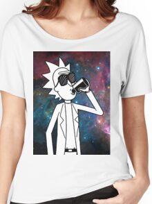 Rick Sanchez: Space Drunk  Women's Relaxed Fit T-Shirt