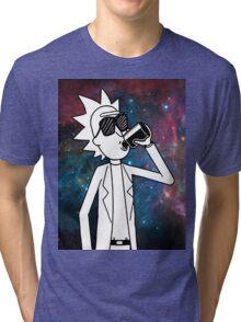Rick Sanchez: Space Drunk  Tri-blend T-Shirt
