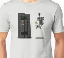 TARS and Gerty Space Robots Unisex T-Shirt
