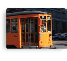 SF Trolley Canvas Print