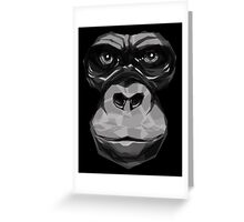 Mister Gorilla Greeting Card