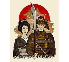 Samurai's Daughter Photographic Print