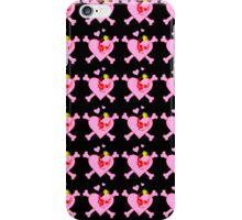 Punk Skulls and Hearts iPhone Case/Skin
