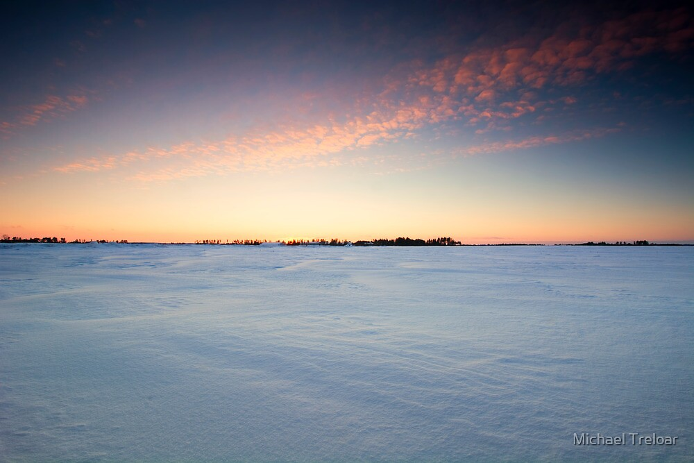 Christmas Sunset 2013 by Michael Treloar