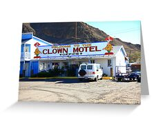 Tonopah, Nevada - Clown Motel Greeting Card