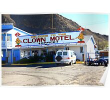Tonopah, Nevada - Clown Motel Poster