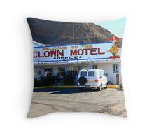 Tonopah, Nevada - Clown Motel Throw Pillow