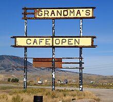 Rawlins, Wyoming - Grandma's Cafe by Frank Romeo
