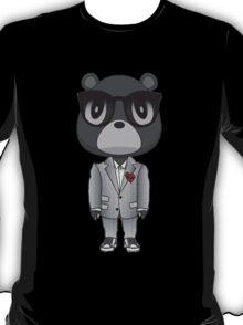 black and white bear heartbreak T-Shirt