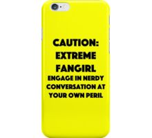 Extreme Fangirl iPhone Case/Skin