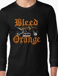 Bleed Orange Long Sleeve T-Shirt