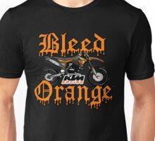 Bleed Orange Unisex T-Shirt