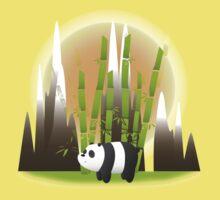 Panda & Bamboo - We Bare Bears One Piece - Short Sleeve