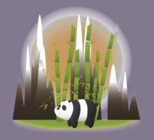 Panda & Bamboo - We Bare Bears Kids Tee