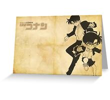 Detective Conan: Conan and Shinichi Greeting Card