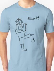 Billiards! (black) Unisex T-Shirt