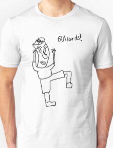 Billiards! (black) Unisex T-Shirt