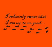 Harry Potter  i solemnly swear that i am up to no good Kids Tee
