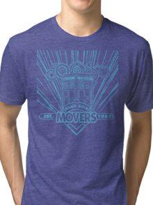 Blue Box Movers Tri-blend T-Shirt