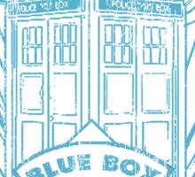 Blue Box Movers Sticker
