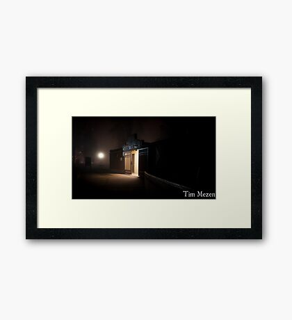 The Light Just Right  Framed Print