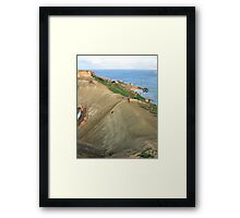 Cycling in Malta Framed Print