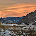 Sunset in Winthrop by Randy Richards