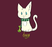 Chibi Draco Cat Womens Fitted T-Shirt