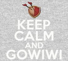 Keep Calm And GoWiWi Clash of Clans, Logo, Funny, Geek, Style  Kids Clothes