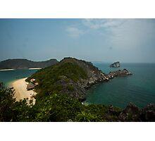 Monkey Island at Halong Bay Photographic Print
