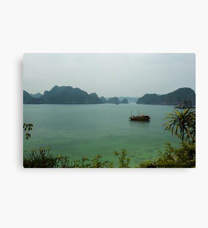 Monkey Island at Halong Bay Canvas Print