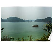 Monkey Island at Halong Bay Poster