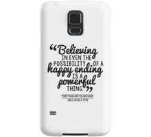 Happy Ending - Mary Margaret Samsung Galaxy Case/Skin