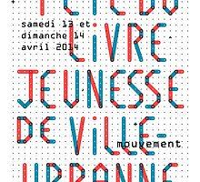 Fête du livre jeunesse de Villeurbanne - Typo by maxstmac