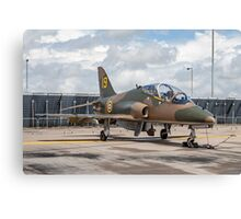"Hawker-Siddeley Hawk T.1 XX184/19 - ""Hawkfire"" Canvas Print"