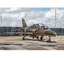 "Hawker-Siddeley Hawk T.1 XX184/19 - ""Hawkfire"" Photographic Print"