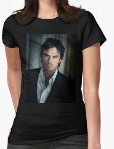 IAN SOMERHALDER DAMON SALVATORE 1 Womens Fitted T-Shirt