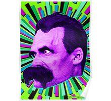 Nietzsche Burst 6 - by Rev. Shakes Poster