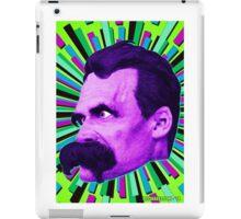 Nietzsche Burst 6 - by Rev. Shakes iPad Case/Skin