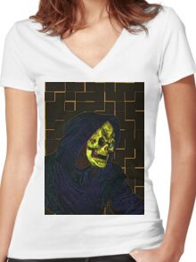 The Reaper Women's Fitted V-Neck T-Shirt