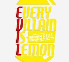 EVERY VILLIAN IS LEMON by oneskillwonder