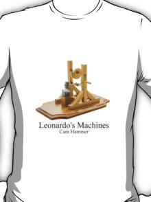 Leonardo's Machines Cam Hammer T-Shirt
