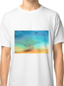 Sunset creating a Colourful  Sky Classic T-Shirt