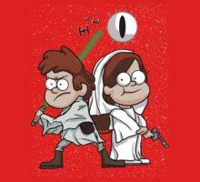 Wonder Twins Star Wars Kids Tee