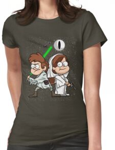Wonder Twins Star Wars Womens Fitted T-Shirt