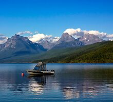 Lake McDonald, Glacier National Park by Charles Kosina