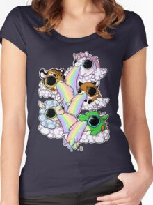 Rainbow Glory Women's Fitted Scoop T-Shirt
