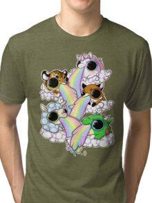 Rainbow Glory Tri-blend T-Shirt