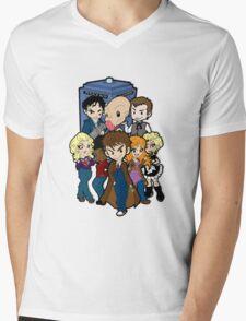 Doc 10 Mens V-Neck T-Shirt