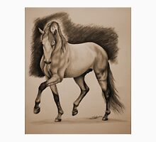 """""""The Strength of a King"""" - Andalusian stallion - Sepia  Unisex T-Shirt"""
